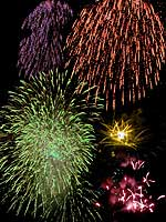 Firework near Winningen Mosel river, 2000-03-09-29-winningen-150, © 2000 WHO